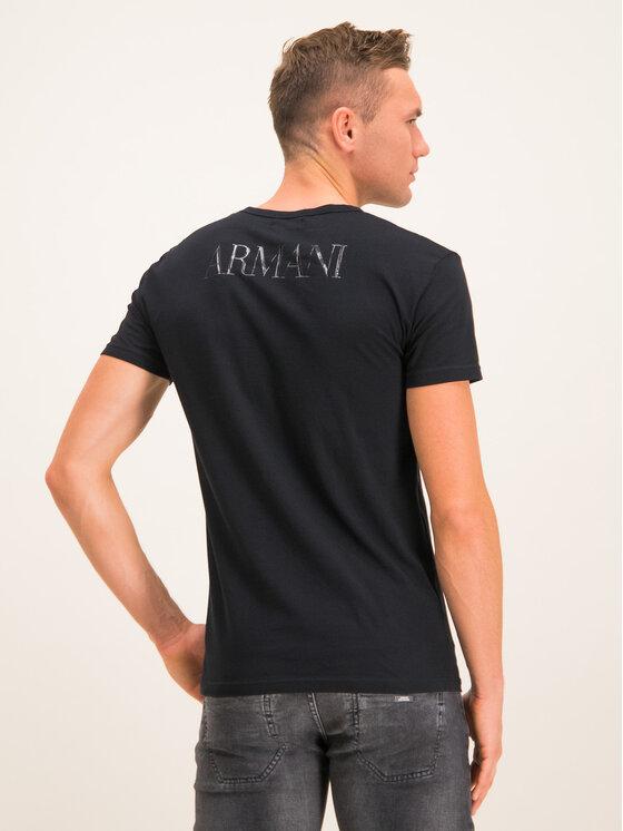 Emporio Armani Underwear Emporio Armani Underwear Tricou 111035 CC716 00020 Negru Slim Fit
