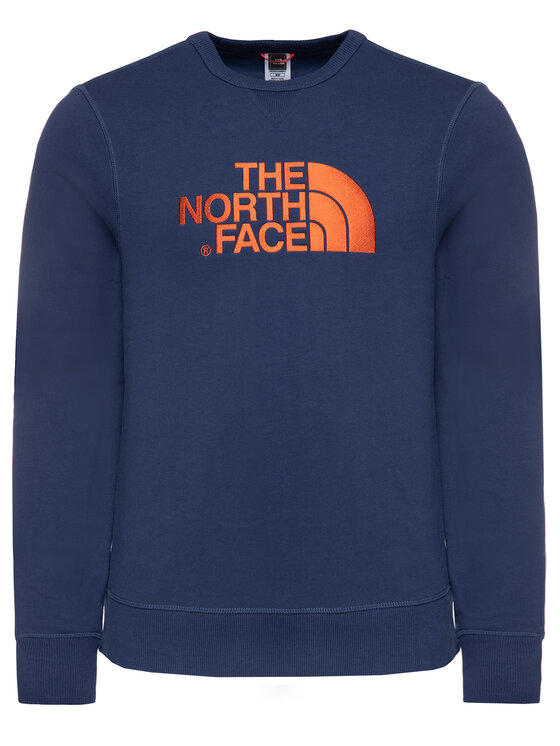 The North Face The North Face Mikina Drew Peak Crew NF0A2ZWRJC6 Tmavomodrá Regular Fit