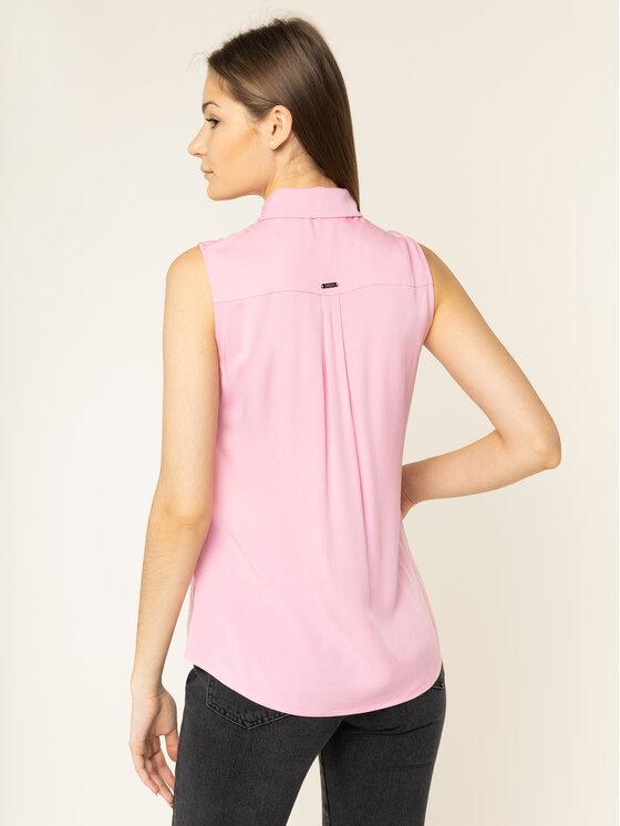Guess Guess Blusa Sl Madinah W01H84 WC9Z0 Rosa Regular Fit