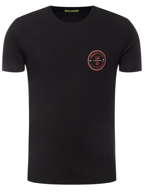 Versace Jeans Versace Jeans T-Shirt B3GTB76S Schwarz Slim Fit