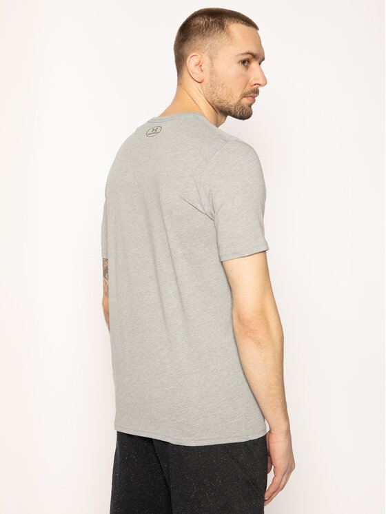 Under Armour Under Armour T-Shirt Ua Boxed Sportstyle 1329581 Szary Loose Fit