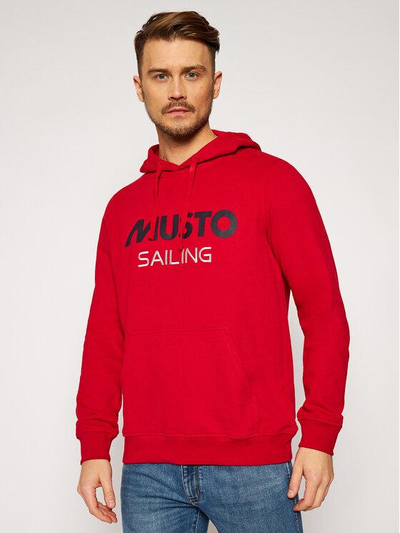 Musto Džemperis 82019 Raudona Regular Fit