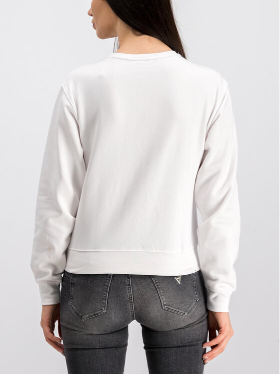Guess Guess Sweatshirt Basic W94Q29 K8RS0 Blanc Oversize
