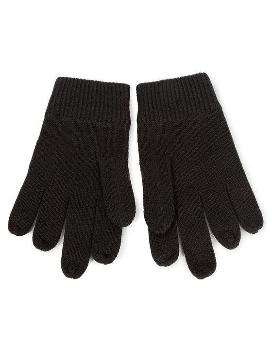 Calvin Klein Calvin Klein Pánske rukavice Basic Knitted Gloves K50K505044 Čierna