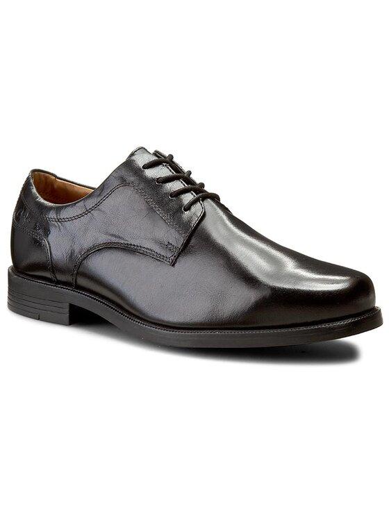 Clarks Clarks Pantofi Beeston Walk 261033188 Negru