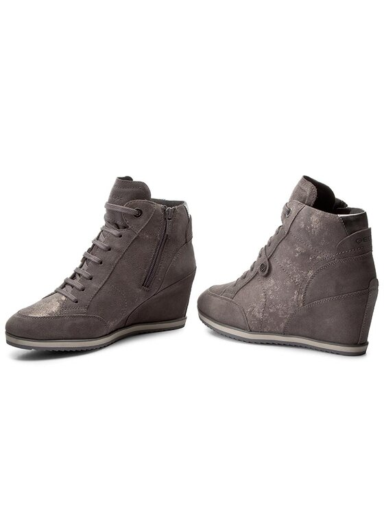 Geox Geox Sneakersy D Illusion A D4454A 0MA22 C9002 Szary