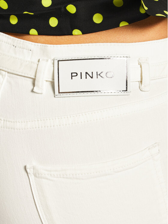 Pinko Pinko Дънки Skinny Fit Sabrina PE 20 PDEN 1J10CB Y62G Бял Skinny Fit