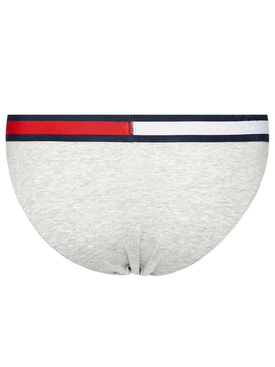 Tommy Hilfiger Tommy Hilfiger Klasické kalhotky Bikini UW0UW01560 Šedá