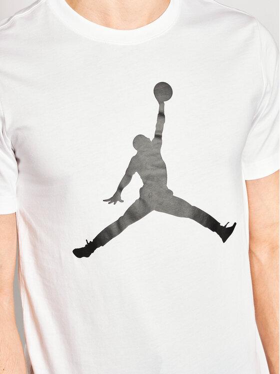 Nike Nike Тишърт Jordan Jumpman CJ0921 Бял Standard Fit