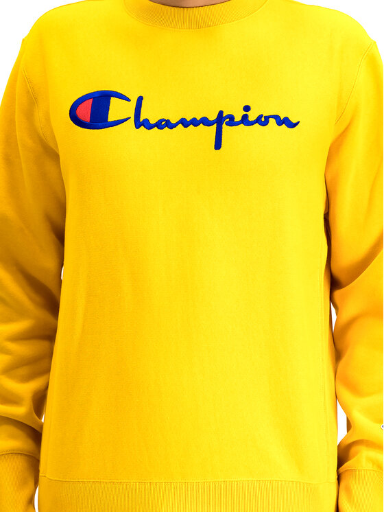 Champion Champion Μπλούζα 212576 Κίτρινο Regular Fit