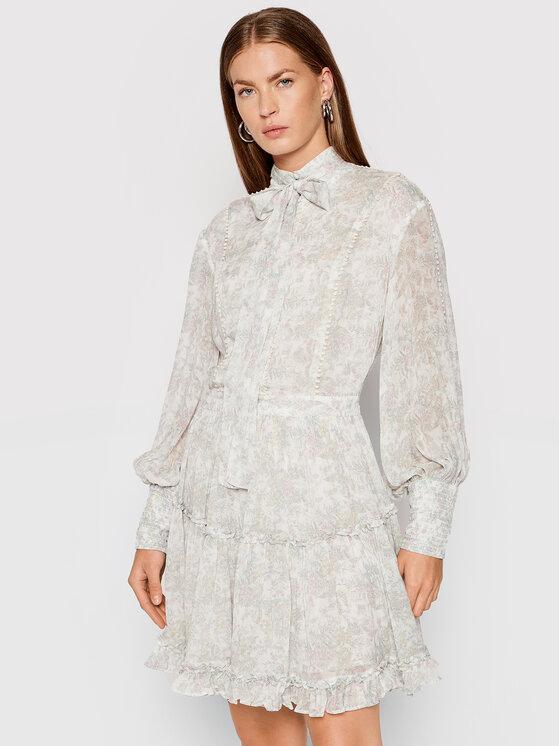 IXIAH Vasarinė suknelė X211-80513 Balta Regular Fit