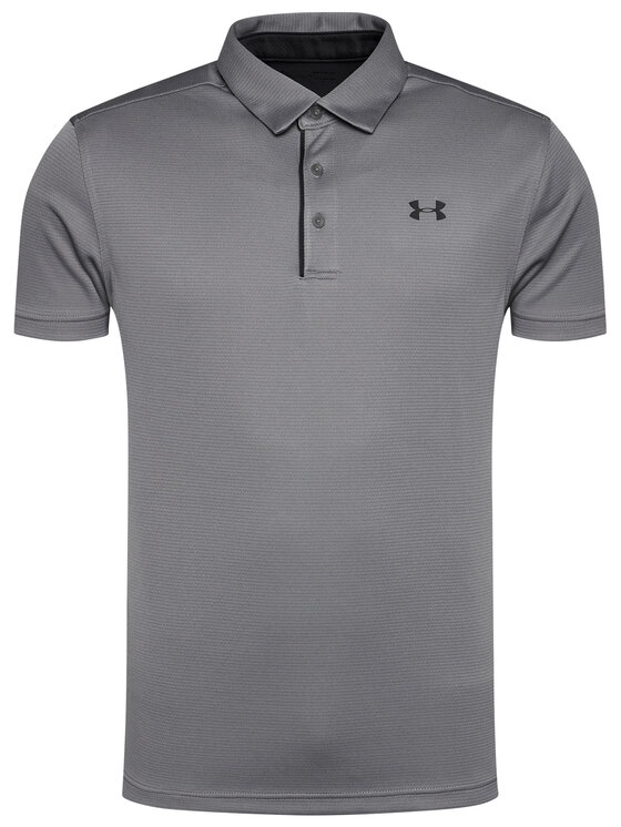 Under Armour Under Armour Polo Ua Tech 1290140 Szary Loose Fit