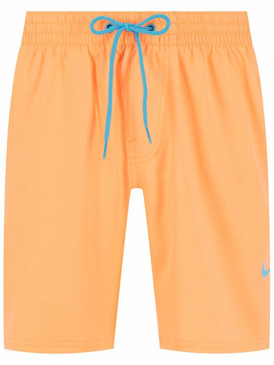 Nike Nike Szorty kąpielowe Solid Vital NESS9431 Pomarańczowy Regular Fit