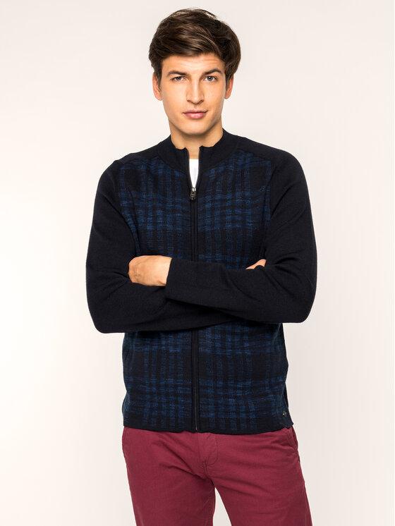 Pierre Cardin Pierre Cardin Sweater 55899/000/92550 Sötétkék Regular Fit