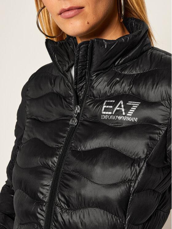 EA7 Emporio Armani EA7 Emporio Armani Пухено яке 8NTB21 TN12Z 1200 Черен Slim Fit