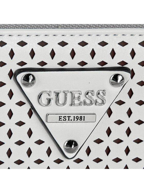 Guess Guess Duży Portfel Damski Audrey (VP) Slg SWVP50 50460 Biały