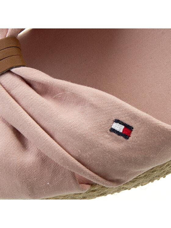 Tommy Hilfiger Tommy Hilfiger Espadrilles Sue 11D FG56819163 11D Rózsaszín