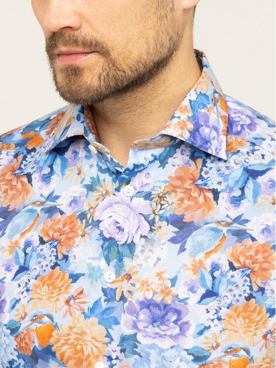 Eton Eton Košile 100000351 Barevná Slim Fit