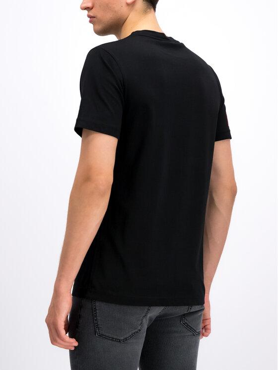 John Richmond John Richmond T-Shirt RMP19160TS Czarny Regular Fit