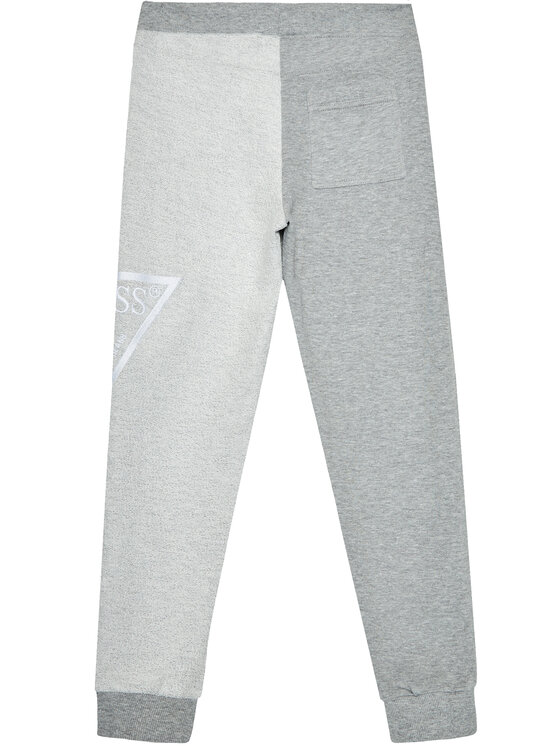 Guess Guess Spodnie dresowe L1RQ12 KA6R0 Szary Regular Fit