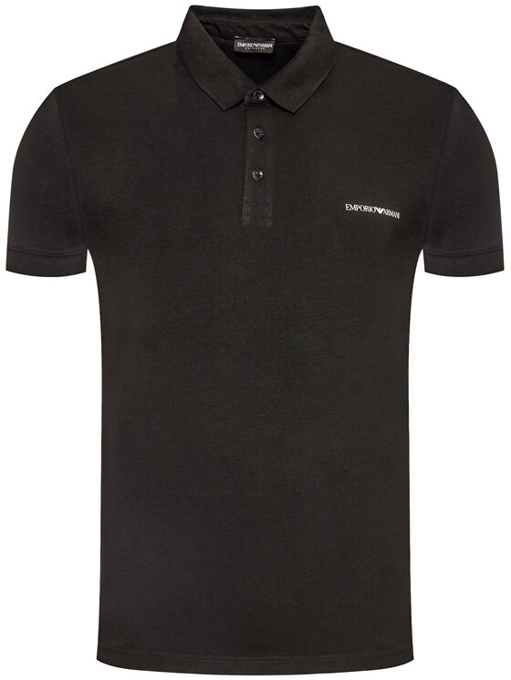 Emporio Armani Emporio Armani Polo marškinėliai 211804 0P472 00020 Juoda Regular Fit