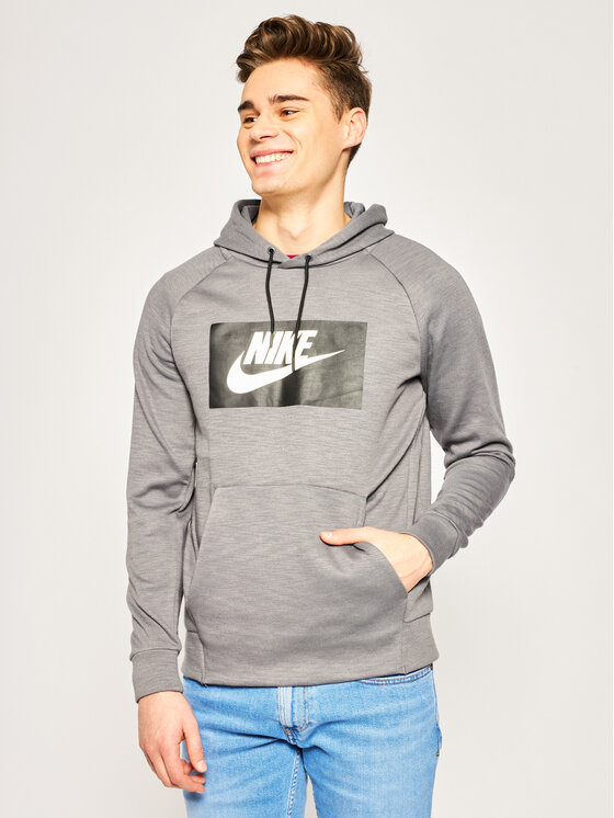 Nike Nike Bluza Optic Fleece BV2989 Szary Regular Fit