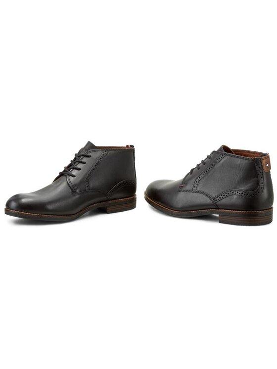 Tommy Hilfiger Tommy Hilfiger Kotníková obuv Tommy Colton 7A FM56819497 Černá