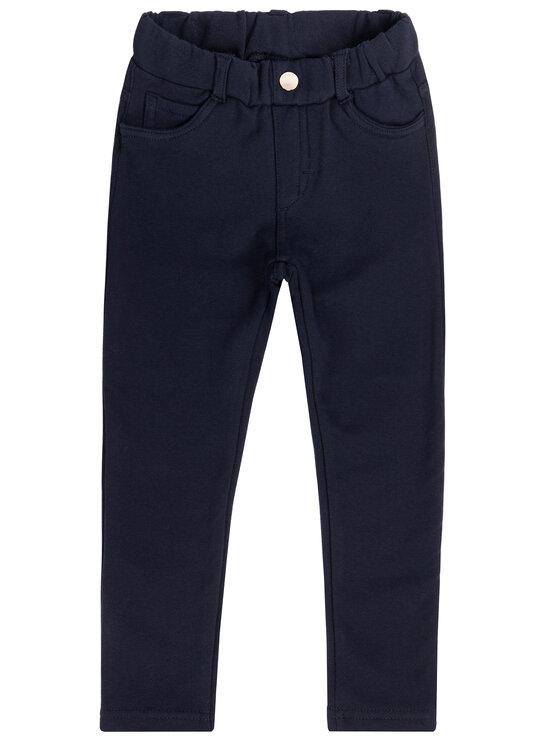 Mayoral Mayoral Текстилни панталони 560 Тъмносин Super Skinny