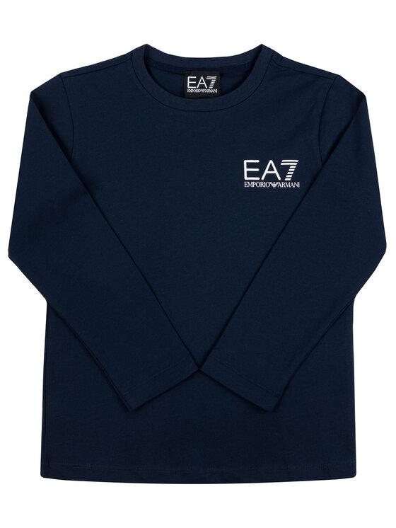 EA7 Emporio Armani EA7 Emporio Armani Bluzka 6GBT52 BJ02Z 1554 Granatowy Regular Fit