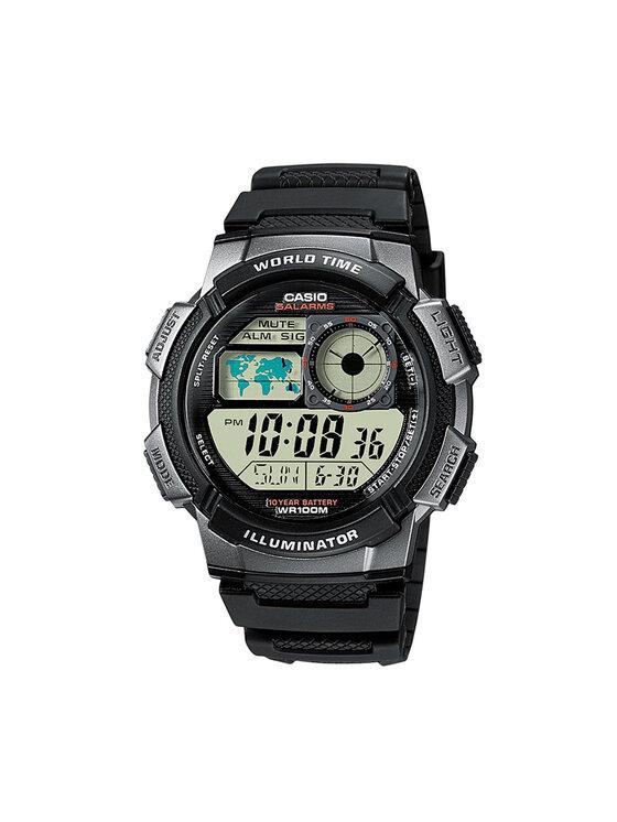 Casio Laikrodis AE-1000W-1BVEF Juoda