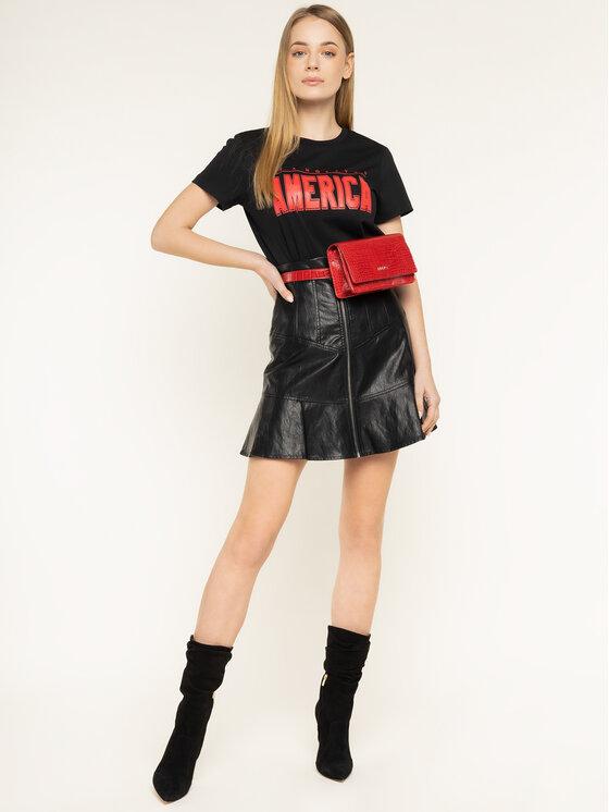 Silvian Heach Silvian Heach T-Shirt Continents PGP20392TS Μαύρο Regular Fit