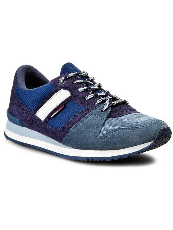 Tommy Hilfiger Tommy Hilfiger Sneakersy DENIM - Roan 1C-1 EM56818778 Niebieski