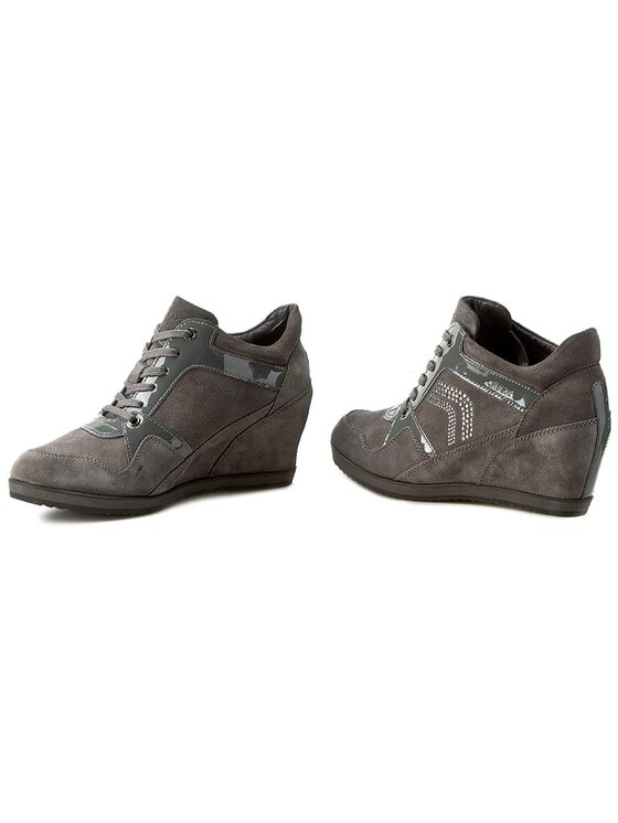 Geox Geox Sneakers D Illusuion A D5454A 02266 C1006 Gri