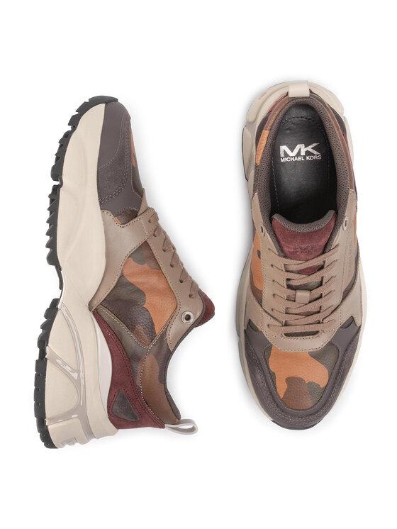 MICHAEL Michael Kors MICHAEL Michael Kors Sneakers Ethan 42F9ETFS1W Marrone