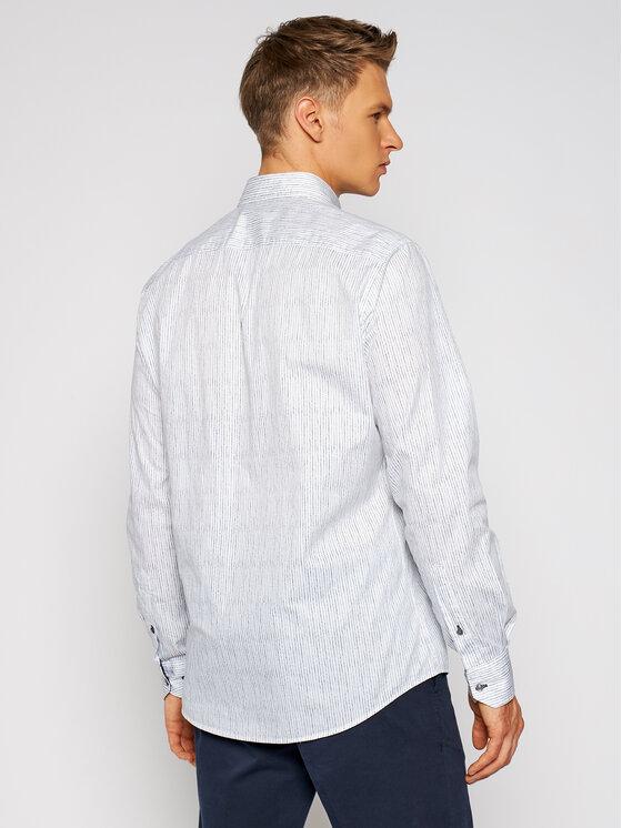 Pierre Cardin Pierre Cardin Košile 5893/000/27352 Bílá Modern Fit