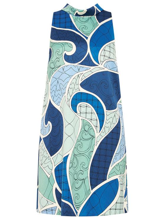 Marella Marella Sukienka codzienna Flash 32212911 Kolorowy Regular Fit
