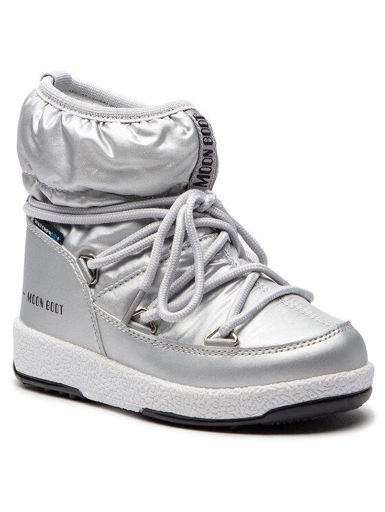 Moon Boot Sniego batai Jr Girl Low 34051800002 Sidabrinė