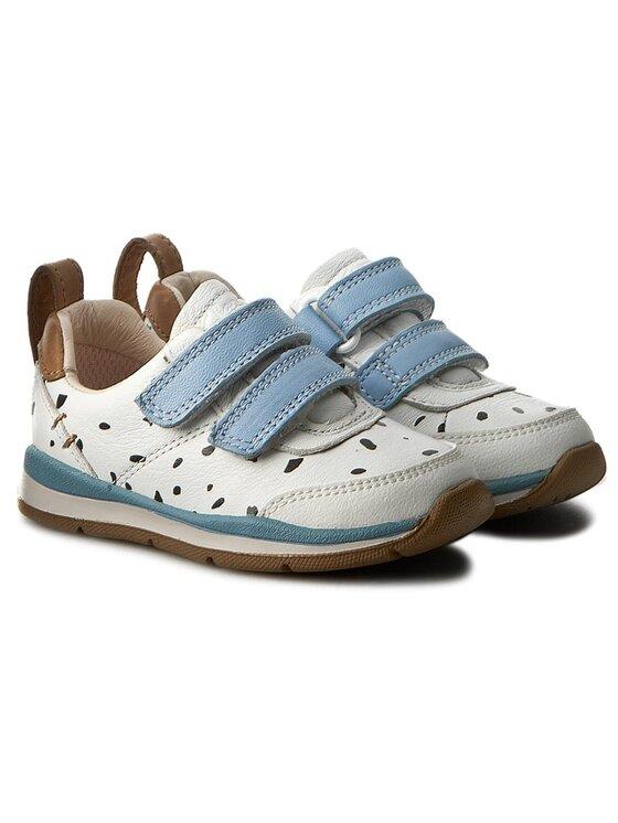 Clarks Clarks Pantofi Ferrisvibe Fst 261234386 Alb