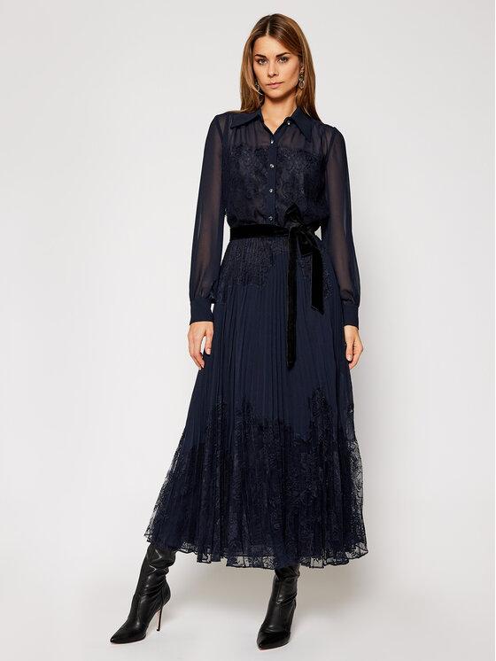 Luisa Spagnoli Marškinių tipo suknelė Genio 537455 Tamsiai mėlyna Regular Fit