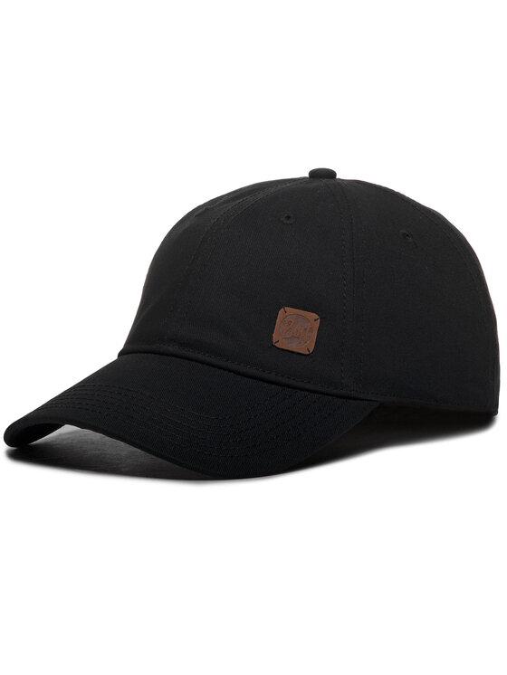 Buff Kepurė su snapeliu Solid 117197.999.10.00 Juoda