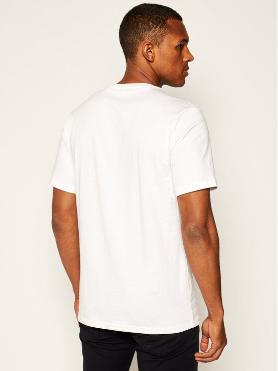 Converse Converse T-Shirt Greetings 10019604-A01 Λευκό Regular Fit