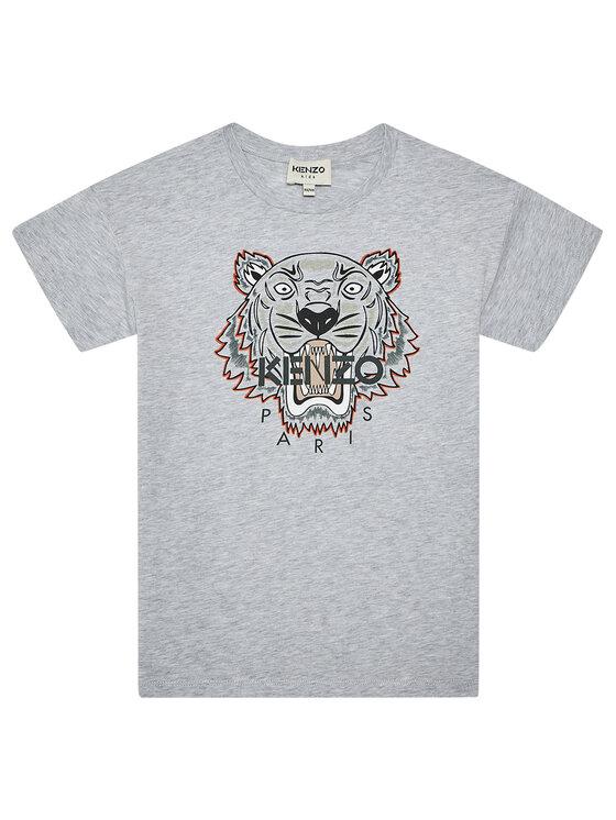 Kenzo Kids Marškinėliai K25113 D Pilka Regular Fit