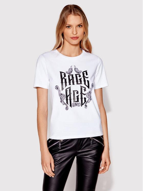 Rage Age Rage Age T-Shirt Eudoxa 2 Biały Regular Fit