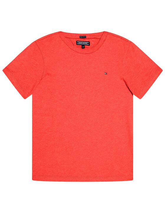 Tommy Hilfiger Tommy Hilfiger T-shirt KB0KB04140 D Rouge Regular Fit
