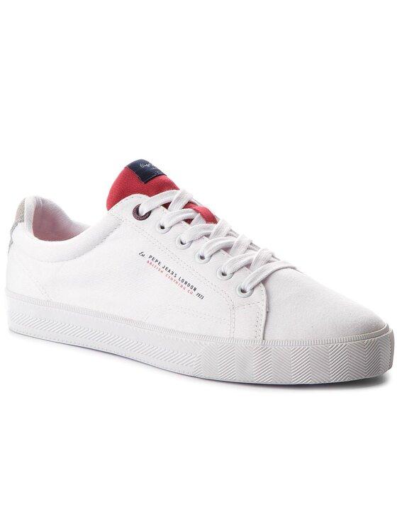 Pepe Jeans Pepe Jeans Tenisky New North Tennis PMS30422 Biela