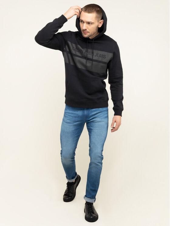 Calvin Klein Jeans Calvin Klein Jeans Bluza J30J314198 Czarny Regular Fit