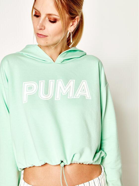 Puma Puma Μπλούζα 581234 Πράσινο Regular Fit