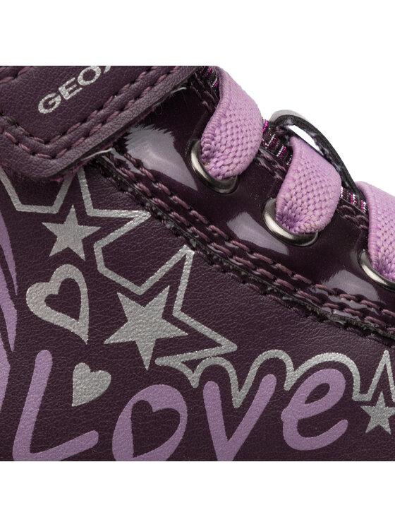 Geox Geox Sneakersy J Gisli G. A J944NA 0HIBC CF88Q M Fioletowy