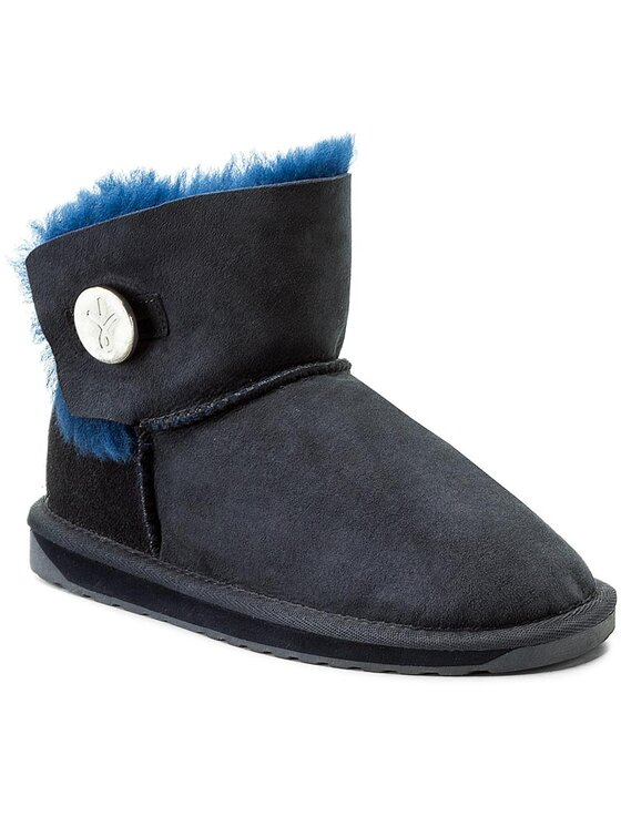 EMU Australia EMU Australia Schuhe Denman Mini W11255 Dunkelblau