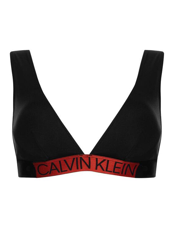 Calvin Klein Swimwear Calvin Klein Swimwear Bikini partea de sus KW0KW00844 Negru